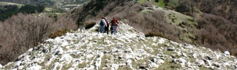 In trekking per la Via del Tancia