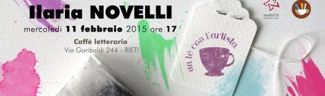Un tè con ... Ilaria Novelli
